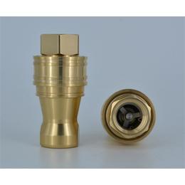 临汾黄铜快速接头-派瑞特液压管件制造-黄铜快速接头加工工艺