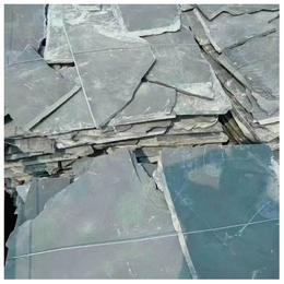 天然板岩文化石乱形板黑色乱形片石护坡 页岩石 不规则青石板