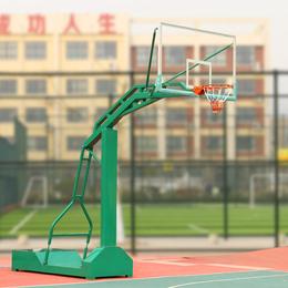 移动单臂篮球架