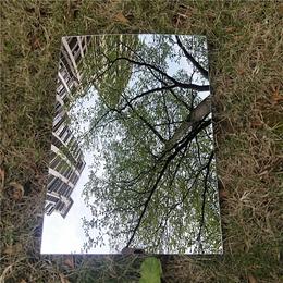 装饰挂件银色亮光镜子摔不破镜子不会断的镜子