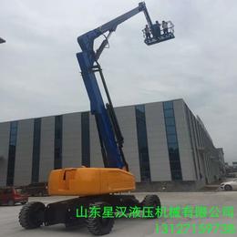 18米升降机 18米曲臂升降平台 柴油机自行式升降作业平台