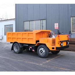 矿渣运输车大型石英矿巷道出渣车稳定性好动力强