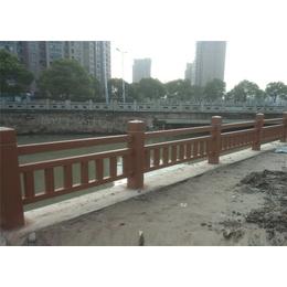 泰安压哲围栏(图)-仿木护栏价格-扬州仿木护栏