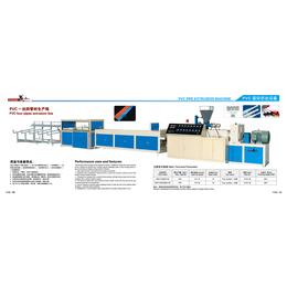 广东省PVC管材一出四挤出设备供应商盛凯瑞线管挤出机低价促销