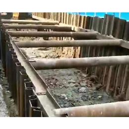 南京拉森钢板桩-安徽利茂(图)-拉森钢板桩出租厂家