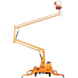 12米曲臂升降机 金门全电动液压升降机 12米曲臂升降平台