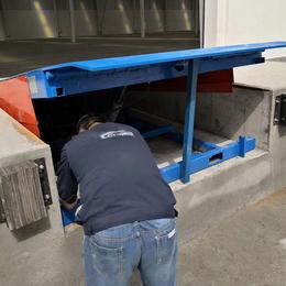 6噸登車橋 貨臺裝卸調節板 福建倉庫嵌入式裝卸過橋設計