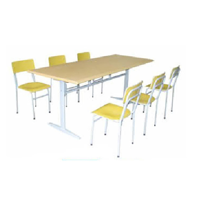 图书馆6人阅览桌