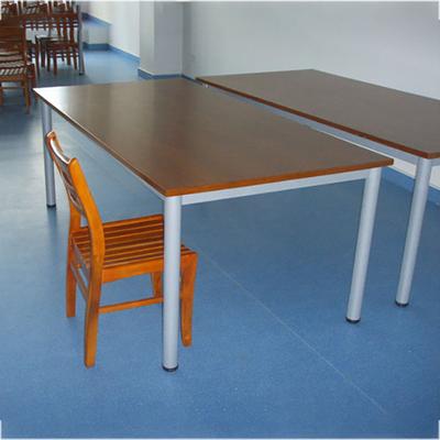 6位实木阅览桌