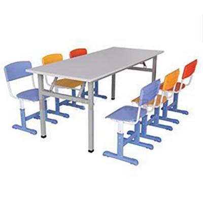 6位钢制阅览桌