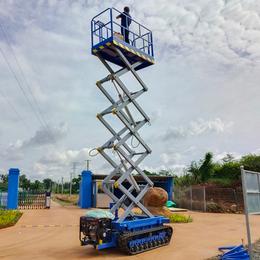履带升降机 山地自动行走升降车 液压升降平台 高空作业车供应