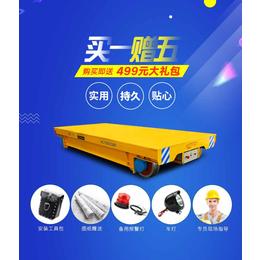 厂区车间货物搬运蓄电池低压地平车