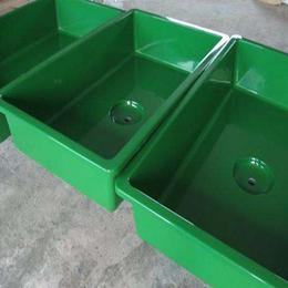 生产玻璃钢养鱼池 养鱼厂兰寿专用养殖孵化池 玻璃钢水槽可定制