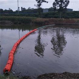 水杉拦污浮排 拦截浮莲浮排 隔离水域柱形浮筒