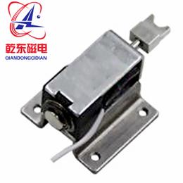 钥匙柜电磁锁保持式推拉直流电磁铁QDLK0730S-乾东磁电