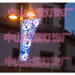 定制灯光节非标产品 3米高航船造型灯 大风车造型