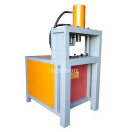 板材切角机 角钢冲孔器 锌钢切割电动不锈钢方管圆管冲孔机