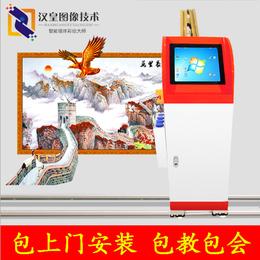 辽宁精度打造墙体彩绘机喷绘机