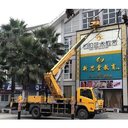 成都华阳高空作业车出租-登高车-升降车-路灯维修车租赁