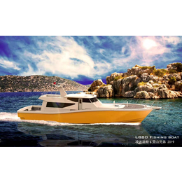 23米海钓艇LB80游钓艇商务钓鱼艇远洋钓鱼艇柴油机高速钓艇