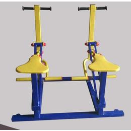 直销室外健身器材健身用品单人双人健骑机公园健身路径
