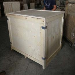 烟台招远市木质包装箱厂家定制胶合板木箱 出口免熏蒸