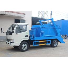 8吨垃圾分类运输车的价格  8吨摆臂垃圾清理中转车的价格