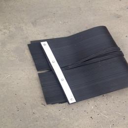 宇成橡胶挡尘帘的组成 200mm挡煤帘