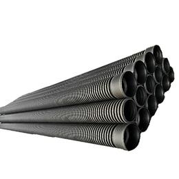 HDPE双壁波纹管厂家 市政工程专用排污管 PE波纹管