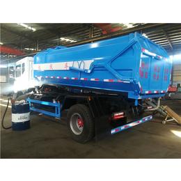 4吨5吨污泥装卸车-5方挂桶式污泥运输车报价