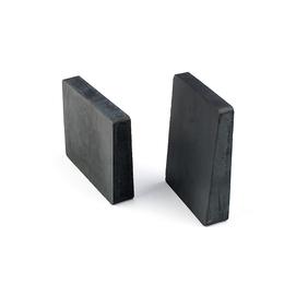 供应东臻无需胶水直接贴附黑色陶瓷片硬度高寿命长磁性耐磨陶瓷