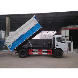一辆清运含水污泥自卸车多少钱-载重3吨5吨污泥清运车报价
