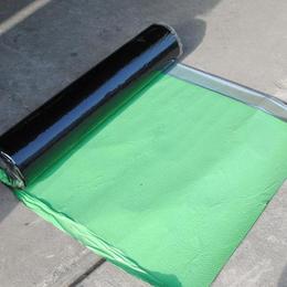 强力交叉膜耐根穿刺自粘胶膜防水卷材施工工艺
