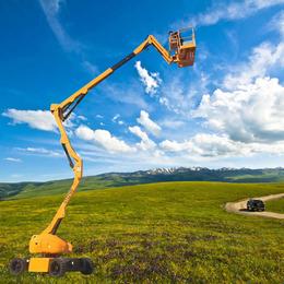 18米曲臂升降機 西安市全高度升降平臺報價 多角度升降車報價