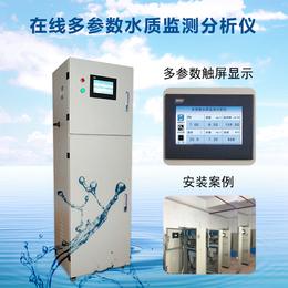 在线多参数PHORP电导率溶氧盐度浊度柜式检测仪