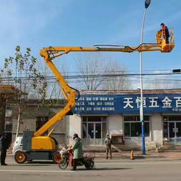 16米曲臂升降机 星汉多角度升降作业车报价