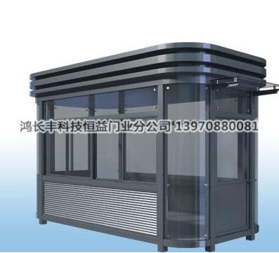 镀锌方管焊接钢结构岗亭