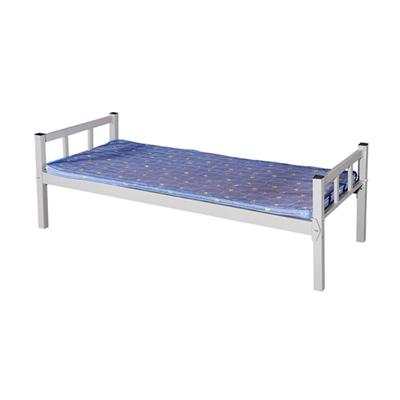中小学单联单人钢制单层床