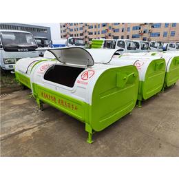 收集2立方3立方垃圾箱的车厢可卸式垃圾车缩略图