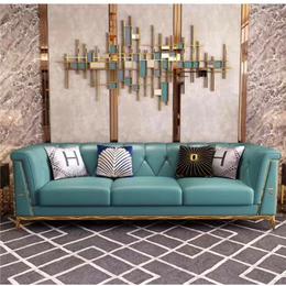 客厅简雅布艺沙发