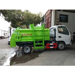 弧形2吨3吨餐厨垃圾运输车生产厂家