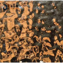 师宗不锈钢板报价凹凸水波纹装饰波纹不锈钢板材加工