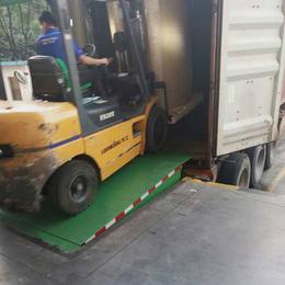 8吨登车桥 岳阳市电动登车桥供应 调节板装卸过桥 星汉登车桥
