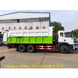 10立方罐式液态污泥运输车-10吨污泥车哪里有卖缩略图