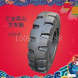 工业实心叉车轮胎4.00-8全新耐磨耐扎