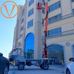 20米折臂升降平台 20米升降机 登高车 升降梯报价星汉机械