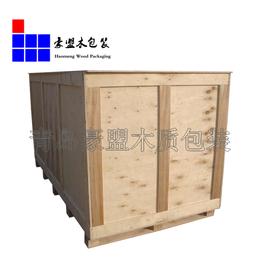 高密胶合板木箱出口免熏蒸平安国际乐园设备出口定做特价出售