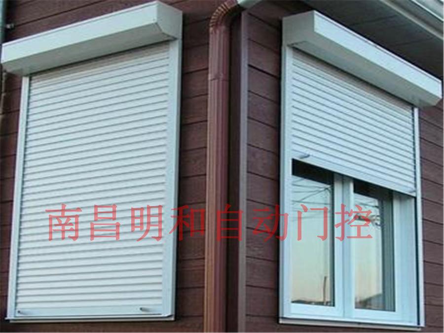 电动遮阳卷帘窗1