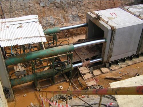 鋼承口頂管施工案例2