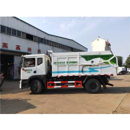 污水厂拉污泥车 10吨12吨污泥运输车厂家